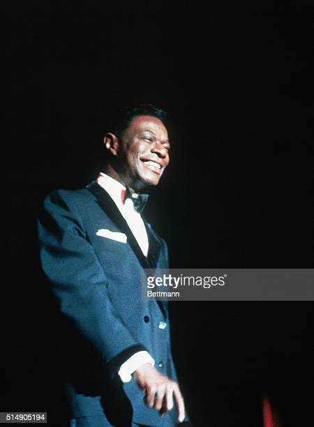 Nat King Cole on Stage