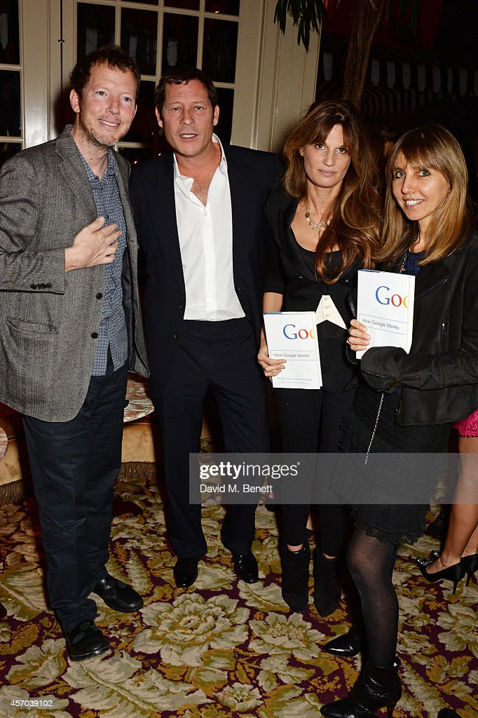 "Jamie Reuben Hosts Book Launch Party For ""How Google Works"" By Eric Schmidt & Jonathan Rosenberg"