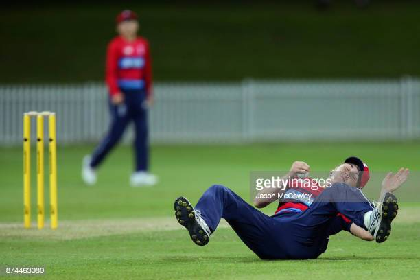 Nat Sciver of England fields during the T20 match between the GovernorGeneral's XI and England at Drummoyne Oval on November 15 2017 in Sydney...