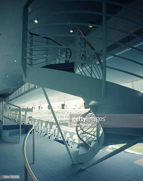 Nat West Media Centre Lords Cricket Ground London United Kingdom Architect Future Systems Nat West Media Centre Lords Cricket Ground