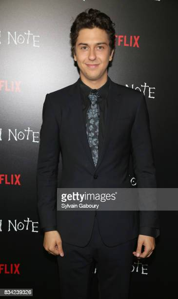Nat Wolff attends Death Note New York Premiere at AMC Loews Lincoln Square 13 theater on August 17 2017 in New York City
