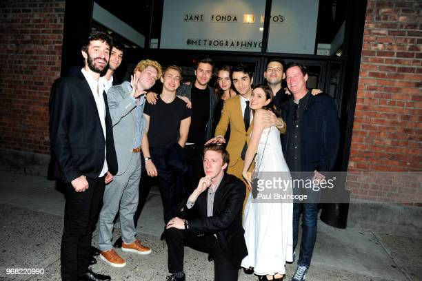 Nat Wolff Grace Van Patten Alex Wolff Gianna Reisen and guests attend A24 Hosts The After Party For Hereditary at Metrograph on June 5 2018 in New...