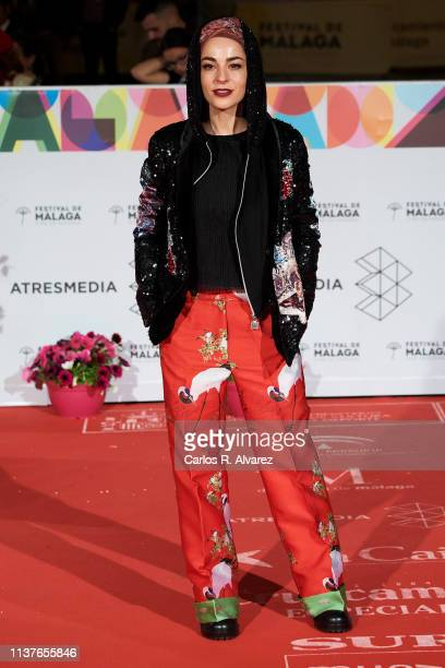 Nata Moreno attends the 'Retrospeciva' award ceremony during the 22th Malaga Film Festival on March 22 2019 in Malaga Spain