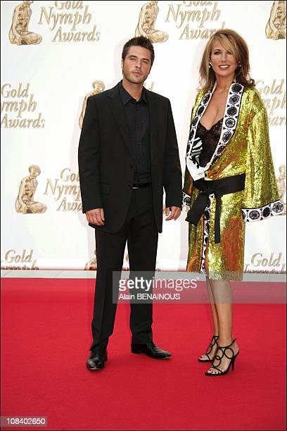 Natacha Amal and Anthony Dupray in Monaco on July 01 2005