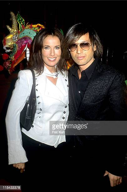 Natacha Amal and Omar Harfouch during Martell Cognac Chinese New Year Dinner Party February 22 2006 at Castel Club in Paris France