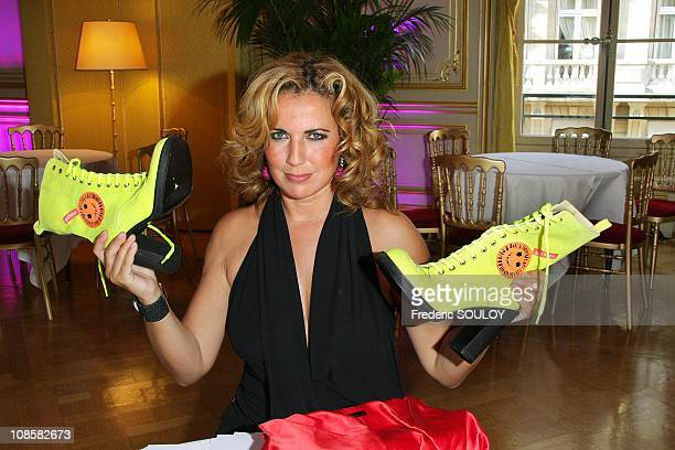 Natacha Amal at the Cercle Interallie in Paris France on June 03 2009