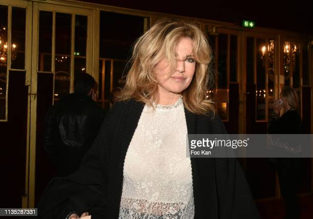 Natacha Amal attends Daniele Gilbert et Les Idoles de Midi Premiere Photocall at Casino de Paris on March 11 Paris France