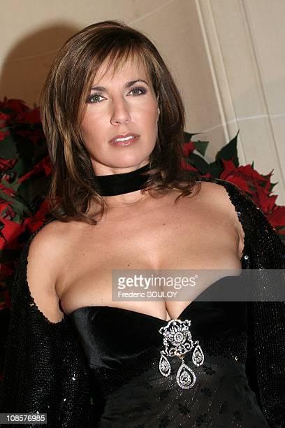 Natacha Amal in Paris France on December 11 2005