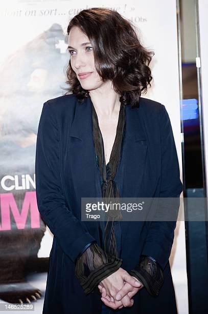 Natacha Lindinger Attends 'La Clinique de L'Amour' Paris Premiere at UGC Cine Cite des Halles on June 18, 2012 in Paris, France.