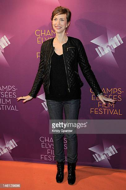 Natacha Lindinger attends the 'La Clinique De L'Amour' premiere during the ChampsElysees Film Festival at UCG George V on June 10 2012 in Paris France