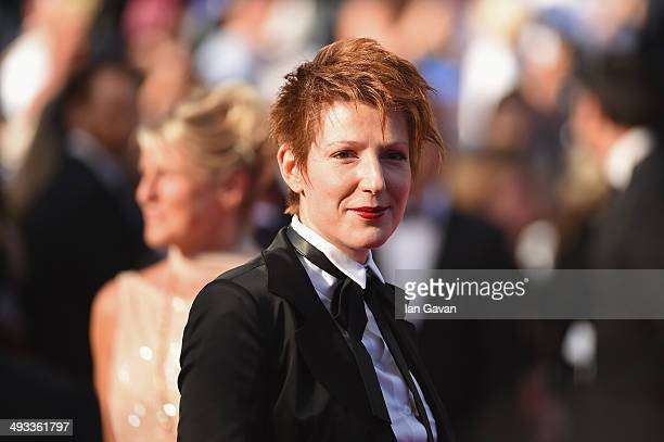 Natacha Polony attends the 'Clouds Of Sils Maria' premiere during the 67th Annual Cannes Film Festival on May 23 2014 in Cannes France