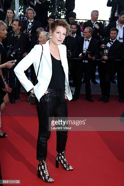 Natacha Polony attends 'The Last Face' Premiere during the 69th annual Cannes Film Festival at the Palais des Festivals on May 20 2016 in Cannes...