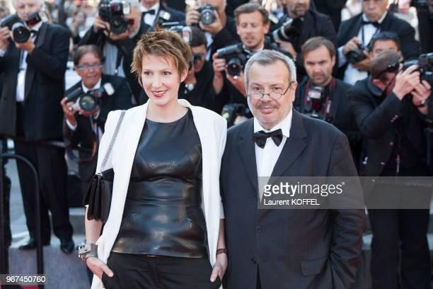Natacha Polony et Perico Legasse lors de la première du film 'Le Petit Prince' pendant le 68eme Festival du Film Annuel au Palais des Festivals le 22...