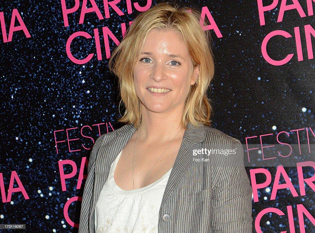Natacha Regnier attends 'La Vie D'Adele' Paris Premiere At MK2 Bibliotheque on July 7, 2013 in Paris, France.