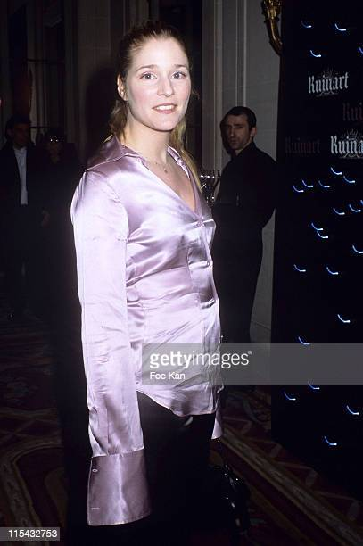 Natacha Regnier during Champagne Ruinart Black and Red St Valentine Party February 1 2006 at Private Hotel Avenue Foch in Paris France