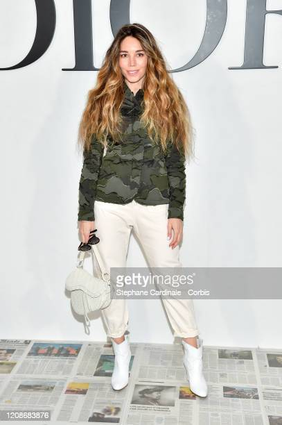 Natacha Stevens attends the Dior show as part of the Paris Fashion Week Womenswear Fall/Winter 2020/2021 on February 25 2020 in Paris France
