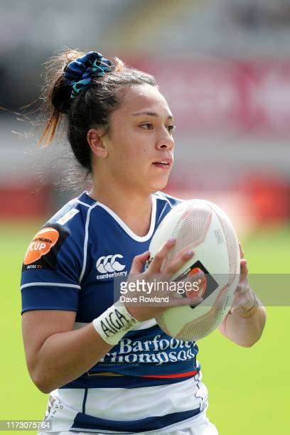 Natahlia Moors of Auckland during the Farah Palmer Cup Rd 2 Auckland v Canterbury at Eden Park on September 08 2019 in Auckland New Zealand