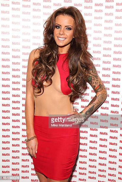 Natalee Harris attends Nuts 10th Birthday Party at Aura on January 23 2014 in London England