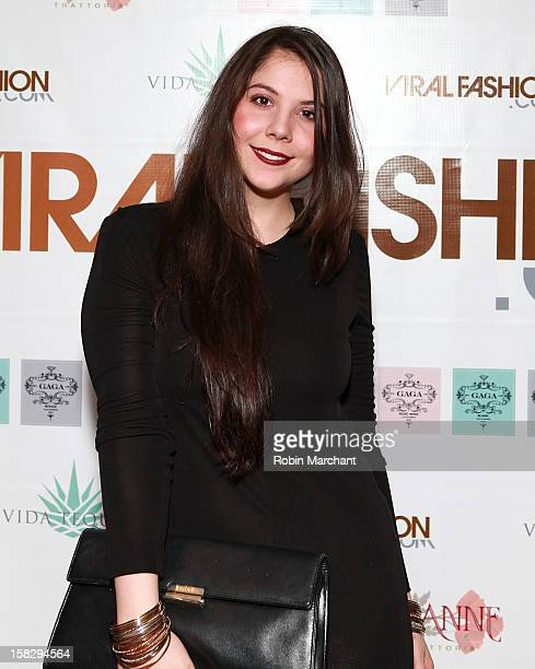Natali Germanotta attends the Viral Fashion launch party at Joanne Trattoria on December 12 2012 in New York City