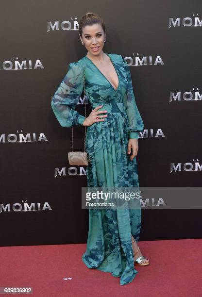 Natalia attends 'The Mummy' premiere at Callao cinema on May 29 2017 in Madrid Spain