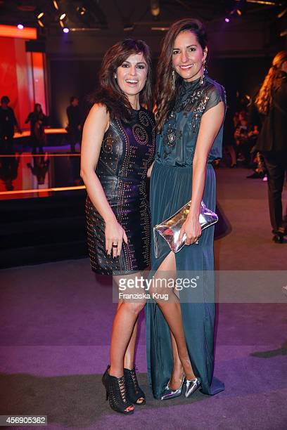 Natalia Avelon and Johanna Klum attend the Tribute To Bambi 2014 on September 25 2014 in Berlin Germany
