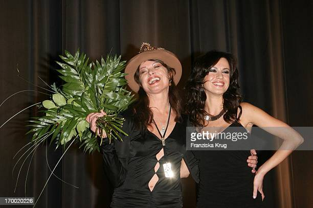 Natalia Avelon and Uschi Obermaier Munich at the The Wild Life movie premiere in Mathäser In
