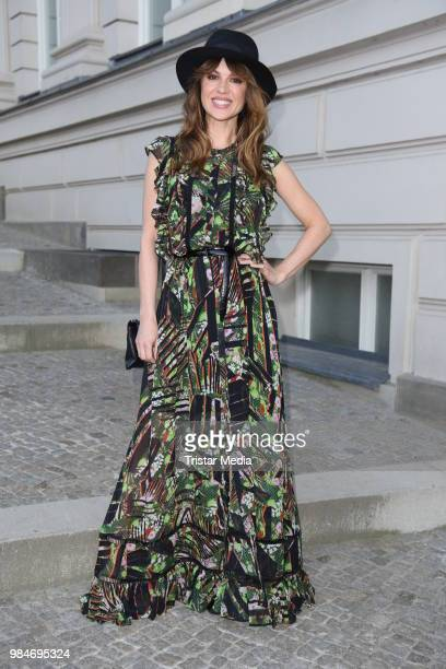 Natalia Avelon attends the BURDA Summer Party on June 26 2018 in Berlin Germany