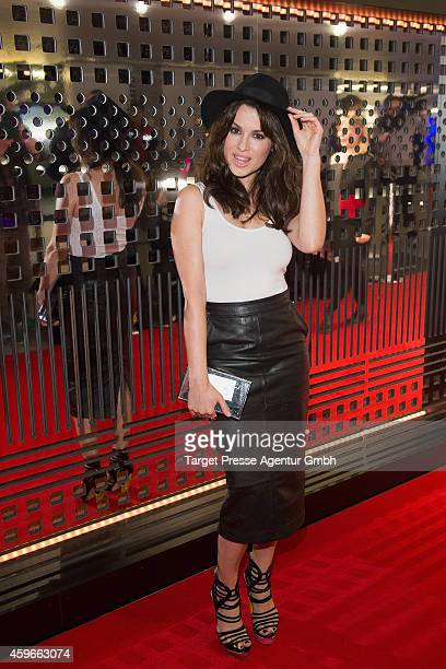 Natalia Avelon attends the Cadillac Experience Grand Opening on November 27 2014 in Berlin Germany