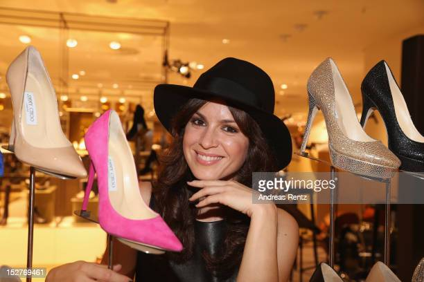 Natalia Avelon attends the grand opening of 'The New Luxury Beauty The Loft' at KaDeWe department store on September 25 2012 in Berlin Germany