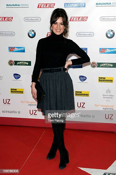 Natalia Avelon attends the Tele 5 Director's Cut during day nine of the 61st Berlin International Film Festival at Hotel Adlon on February 18 2011 in...