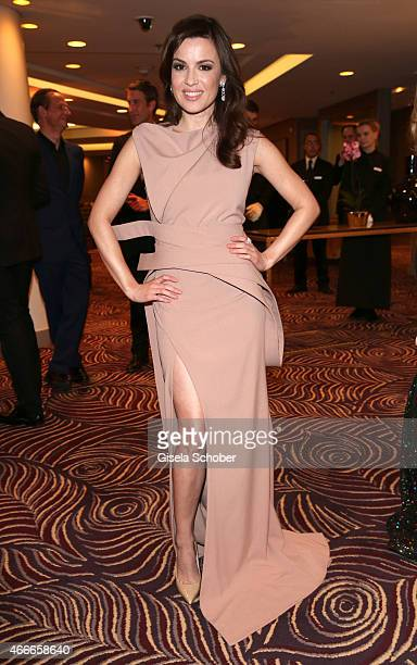 Natalia Avelon during the PEOPLE Magazine Germany launch party at Waldorf Astoria on March 17 2015 in Berlin Germany