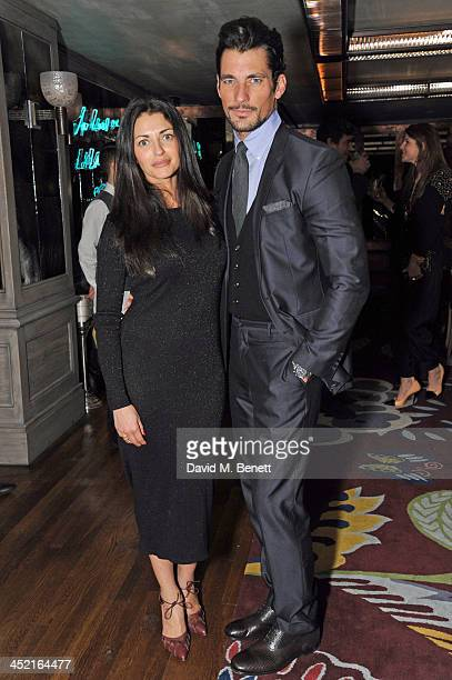 Natalia Barbieri attends a drinks reception hosted by Ben Fogle and Bernie Shrosbree to celebrate Johnnie Walker Blue Label Alfred Dunhill 'A Journey...
