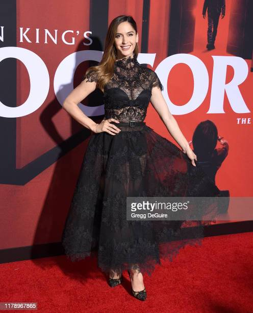 "Natalia Barulich arrives at the Premiere Of Warner Bros Pictures' ""Doctor Sleep"" at Westwood Regency Theater on October 29, 2019 in Los Angeles,..."