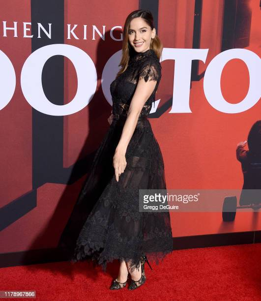 Natalia Barulich arrives at the Premiere Of Warner Bros Pictures' Doctor Sleep at Westwood Regency Theater on October 29 2019 in Los Angeles...