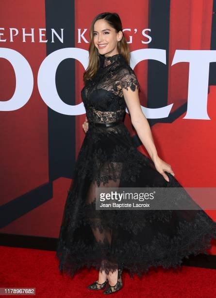 "Natalia Barulich attends the premiere of Warner Bros Pictures' ""Doctor Sleep"" at Westwood Regency Theater on October 29, 2019 in Los Angeles,..."
