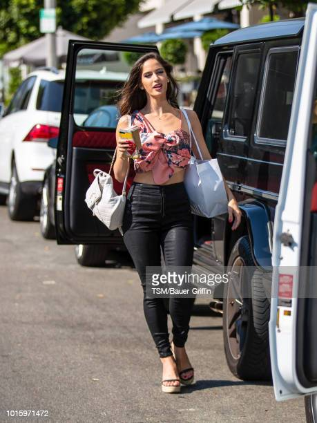 Natalia Barulich is seen on August 12 2018 in Los Angeles California