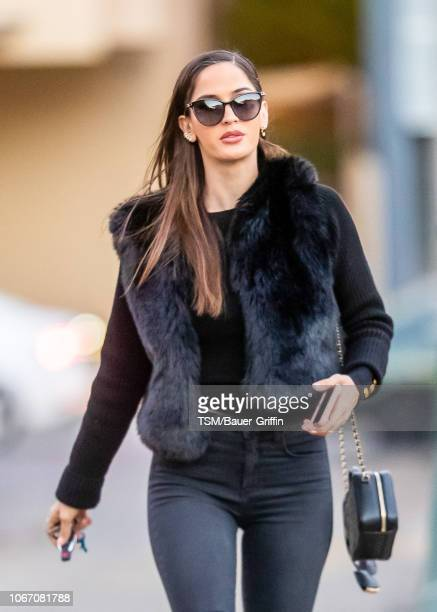 Natalia Barulich is seen on November 30 2018 in Los Angeles California