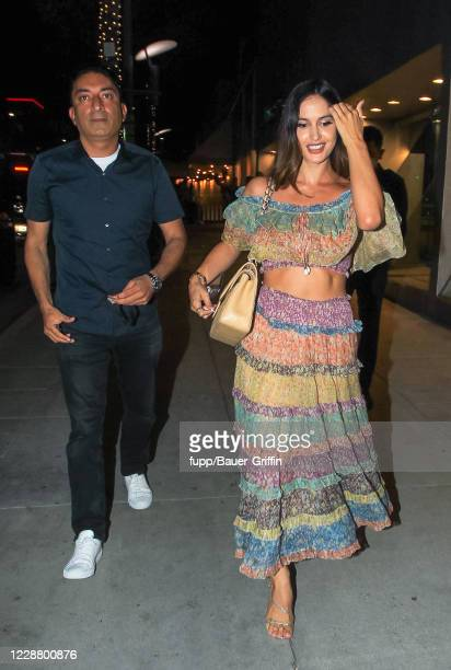 Natalia Barulich is seen on September 29, 2020 in Los Angeles, California.