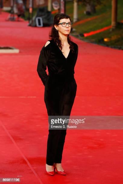 Natalia Beristain walks a red carpet for 'The Eternal Feminine ' during the 12th Rome Film Fest at Auditorium Parco Della Musica on November 3 2017...
