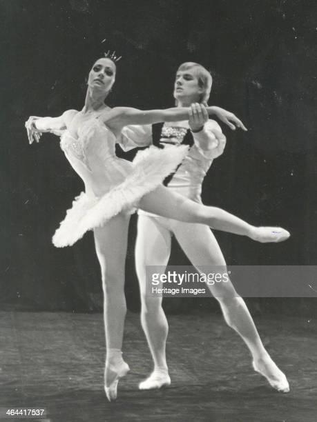 Natalia Bessmertnova and Alexander Godunov in the Ballet Swan Lake