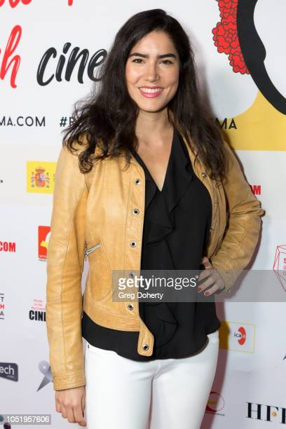 Natalia Bilbao attends the 24th Annual Recent Spanish Cinema Opening Night Gala at the Egyptian Theatre on October 11 2018 in Hollywood California