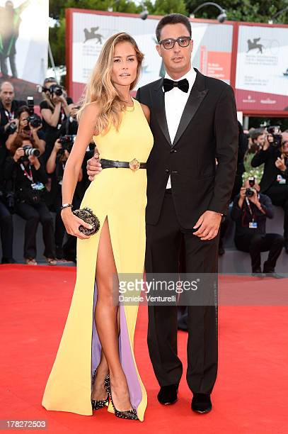 Natalia Borges and Lorenzo Tonetti attend 'Gravity' premiere and Opening Ceremony during The 70th Venice International Film Festival at Sala Grande...