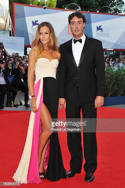 Natalia Borges and Lorenzo Tonetti attend The Reluctant Fundamentalist Premiere And Opening Ceremony during the 69th Venice International Film...