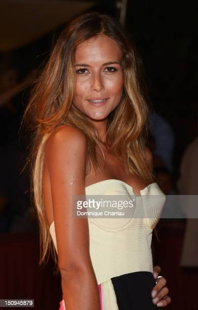 Natalia Borges attends the opening ceremony dinner during the 69th Venice Film Festival at the Palazzo del Cinema on August 29 2012 in Venice Italy