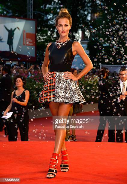 Natalia Borges attends the 'Tracks' premiere during the 70th Venice International Film Festival at the Palazzo del Cinema on August 29 2013 in Venice...