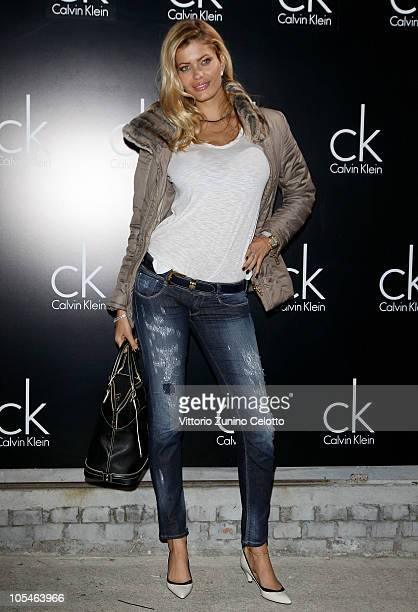 Natalia Bush attends the Calvin Klein Black Night Party on October 14, 2010 in Milan, Italy.