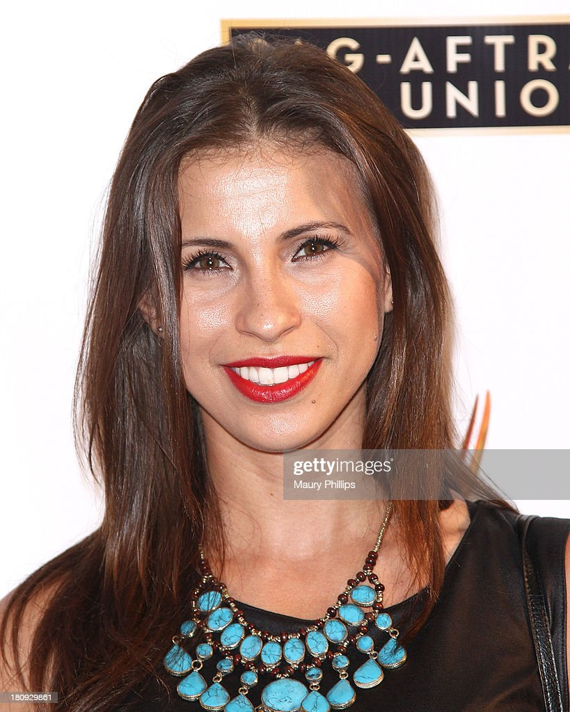 Natalia Castellanos arrives at Dynamic & Diverse - A 65th Emmy Awards Nominee celebration at Academy of Television Arts & Sciences on September 17, 2013 in North Hollywood, California.