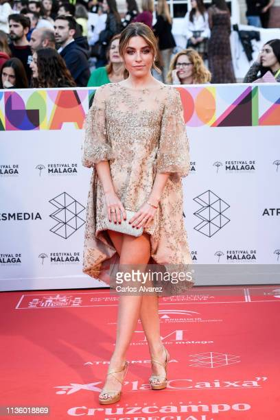 Natalia Cebrian attends Opening Day Red Carpet Malaga Film Festival 2019 on March 15 2019 in Malaga Spain