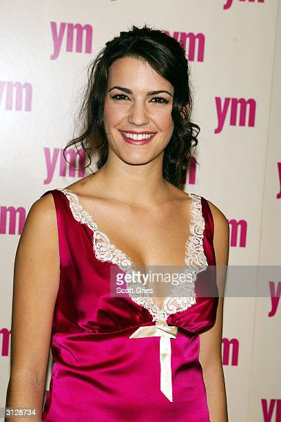 Natalia Cigliuti arrives at the 5th Annual YM MTV Issue party at Spirit March 24 2004 in New York City