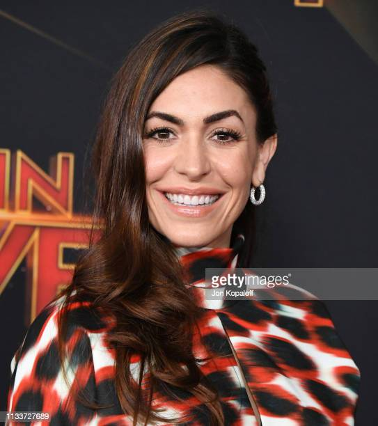 Natalia CordovaBuckley attends Marvel Studios Captain Marvel Premiere on March 04 2019 in Hollywood California